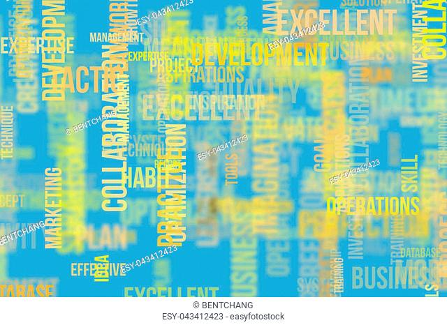 Business word cloud, for design wallpaper, texture or background