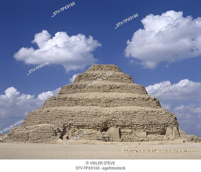 Egypt, Africa, Heritage, Holiday, Landmark, Pyramid, Sakkara, Step, Tourism, Travel, Unesco, Vacation, World, Zoser