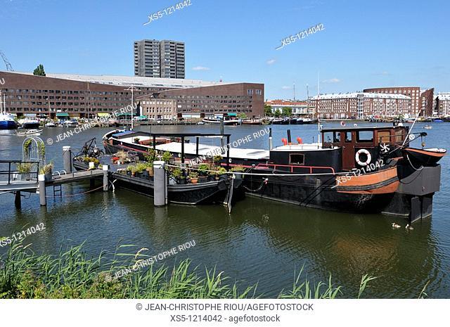 Hollande, Amsterdam, boat