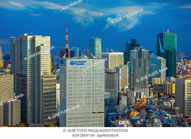Japan, Tokyo City, Toranomon , Shimbashi area