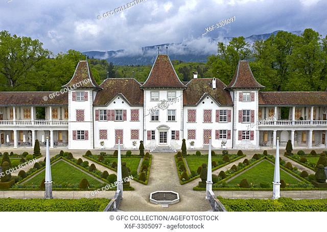 Waldegg Castle, Schloss Waldegg, Feldbrunnen-St. Niklaus near Solothurn, Switzerland
