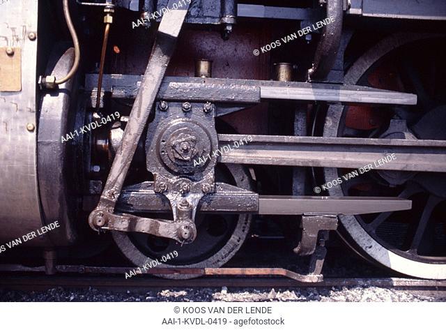Steam train, Capital Park, City of Tshwane, South Africa
