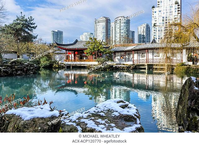 Dr. Sun Yat-Sen Classical Chinese Garden and Park, Vancouver, British Columbia, Canada