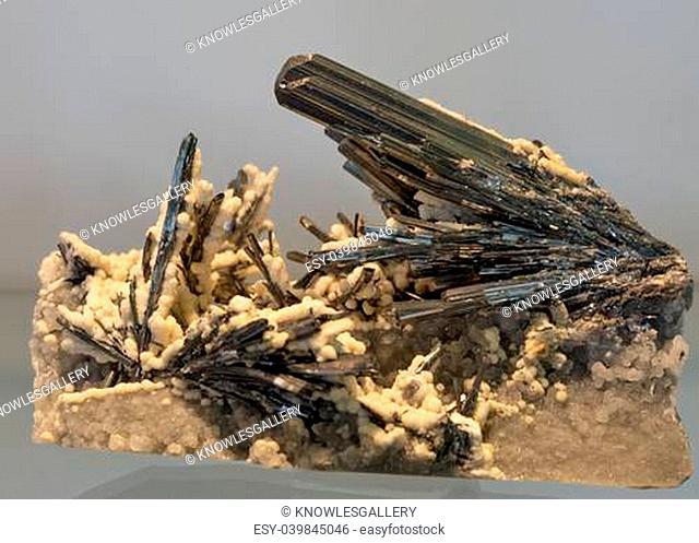 Beautuful mineral crystal closeup