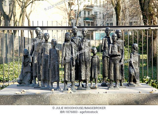 Grosse Hamburger Strasse Jewish Memorial, Berlin, Germany, Europe