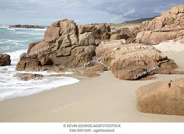Forcados Point Beach; Costa de la Muerte; Galicia; Spain