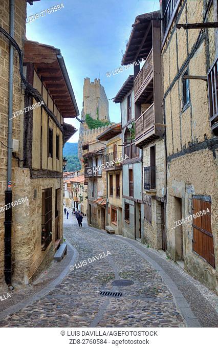 Frias, Burgos province, Castile and Leon, Spain