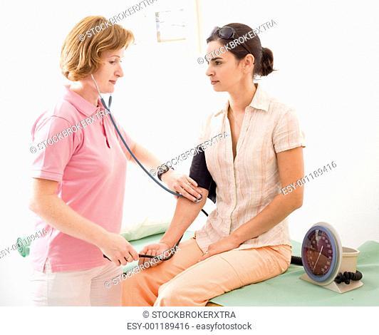 measuring blood-pressure