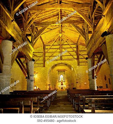 Chapel. Guipuzcoa. Euskadi. Spain