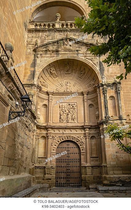 fachada, Iglesia de San Esteban, Murillo de Río Leza, La Rioja , Spain, Europe