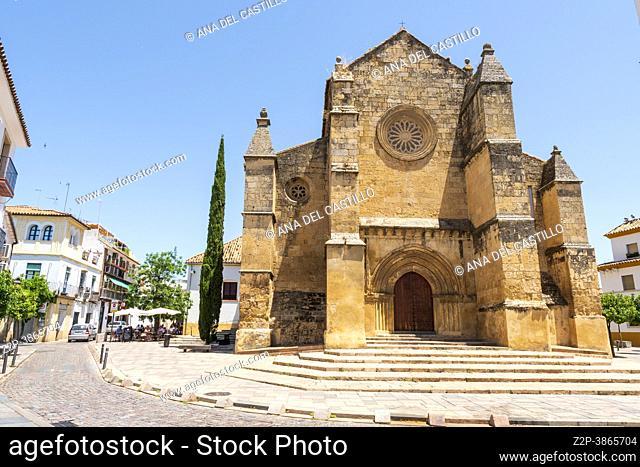 Cordoba Andalusia Spain Santa Marina church