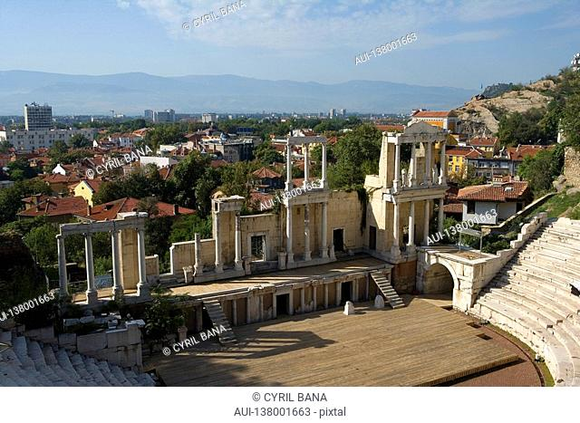 Bulgaria - North-West Region - Rhodope Mountains - Plovdiv - Old City - Roman Stadium