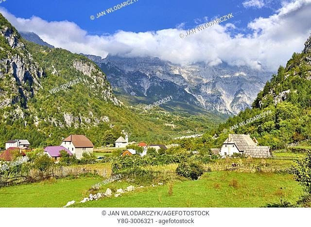 Theth Valley National Park, The Balkans, Albania