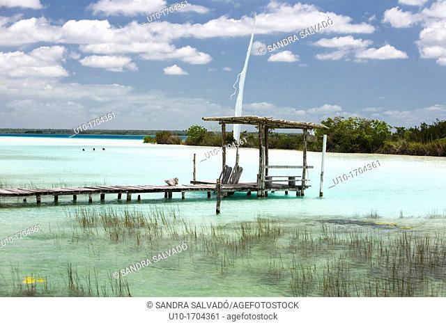 Bacalar Lagoon, México