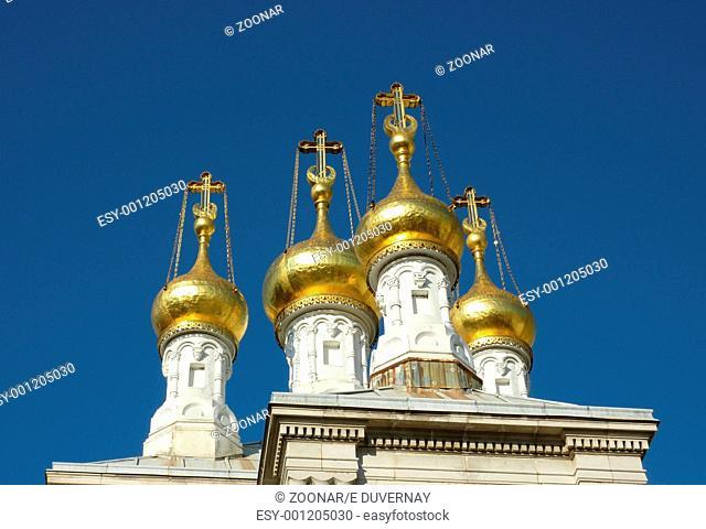 Russian church in Geneva, Switzerland