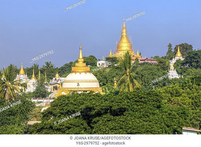Sagaing Hill, Mandalay, Myanmar, Asia