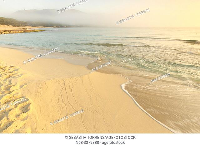 Beach of Cala Agulla, Capdepera, Majorca, Spain