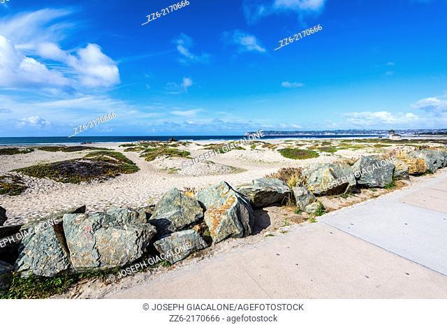 Coronado Central Beach. Coronado, California, United States