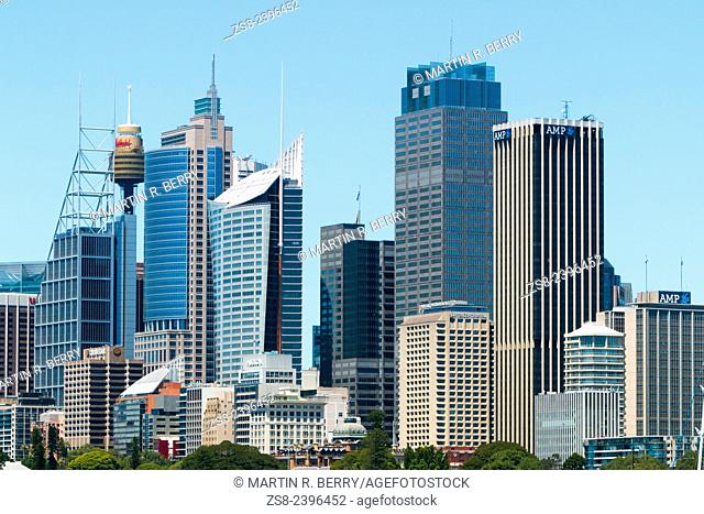 Sydney City Centre and Central Business District, Australia