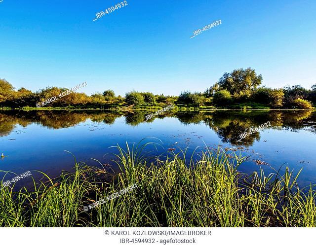 Landscape at Vistula River, Sandomierz, Swietokrzyskie Voivodeship, Poland