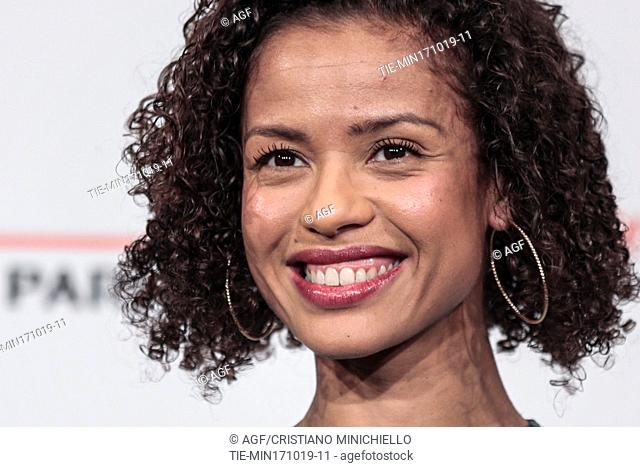 Gugu Mbatha Raw during 'Motherless Brooklyn' film premiere, Rome Film Fest, Rome 17 Oct 2019