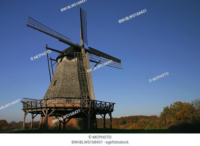 windmill, Germany, North Rhine-Westphalia, Detmold