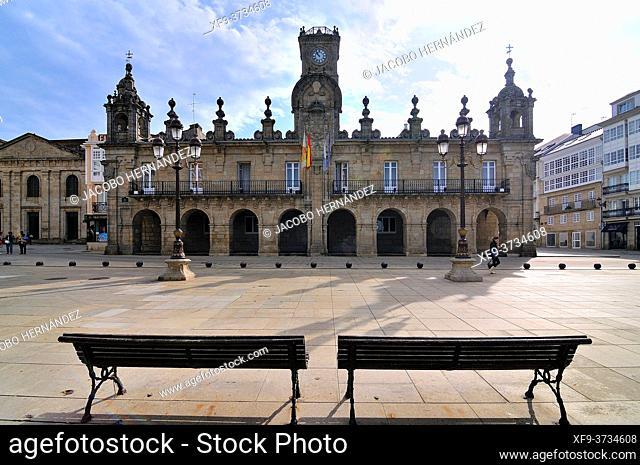 Lugo City Council. Galicia. Spain