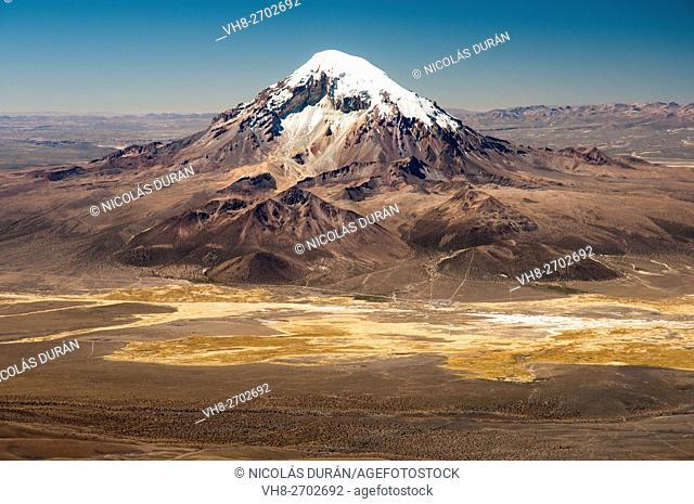 Sajama Volcano. Sajama National Park. Oruro Department. Bolivia