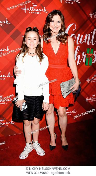 Hallmark's 'Christmas at Holly Lodge' screening at 189 The Grove Drive - Arrivals Featuring: Margaret Heather Christian, Kellie Martin Where: Los Angeles