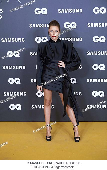 Valentina Zenere attends GQ Men of the Year Awards 2019 at Palace Hotel on November 21, 2019 in Madrid, Spain