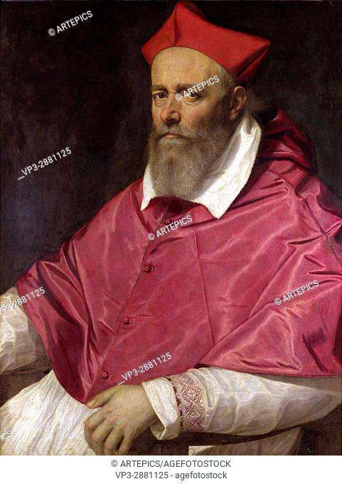Scipione Pulzone. Portrait of a Cardinal. 1598. National Gallery - London