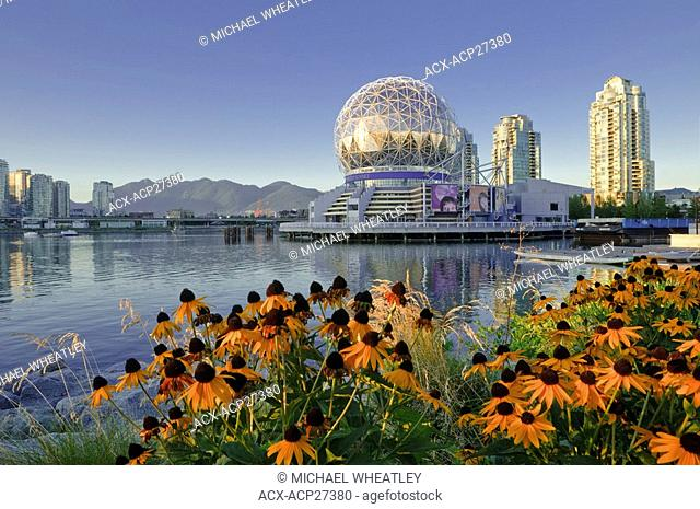 Science World, False Creek, Vancouver, British Columbia, Canada