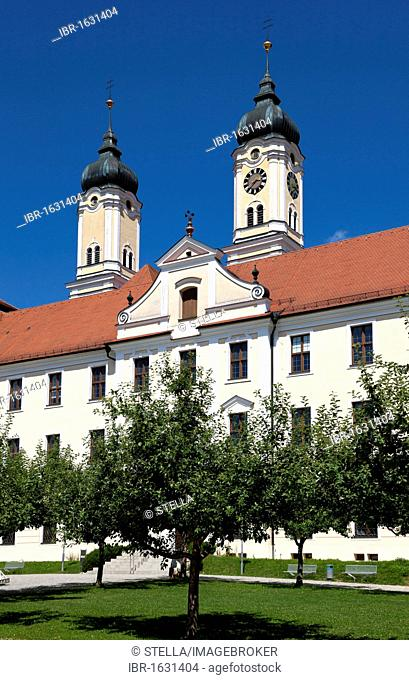 Roggenburg Abbey, Neu-Ulm district, Schwaben, Bavaria, southern Germany, Germany, Europe
