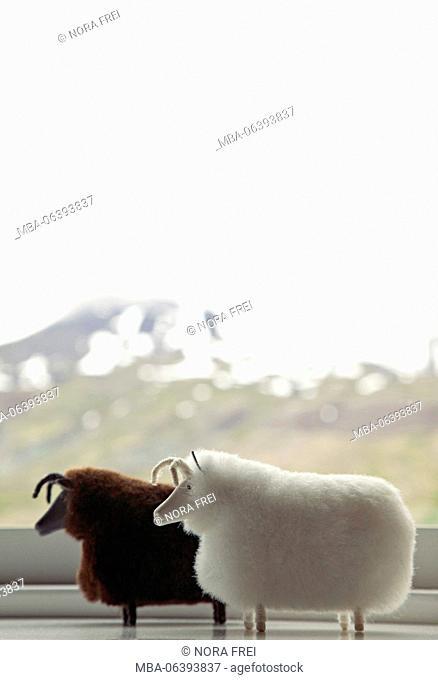 Window, view, Iceland, scenery