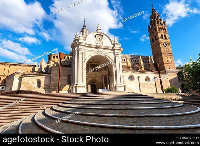 Cathedral In The Historic City Of Tarazona, Aragon region, Spain