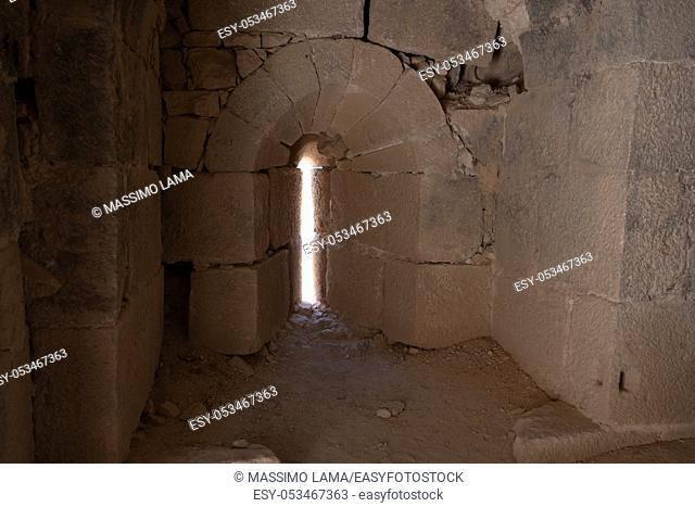 medieval crusaders castle, Shobak, Jordan, Middle East