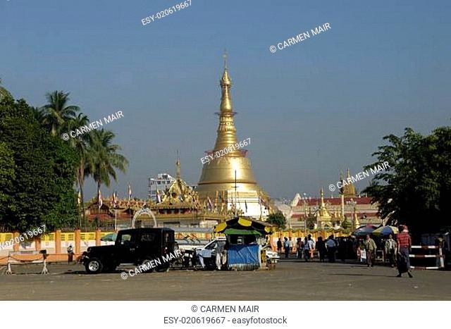 Botataung Pagode in Yangon