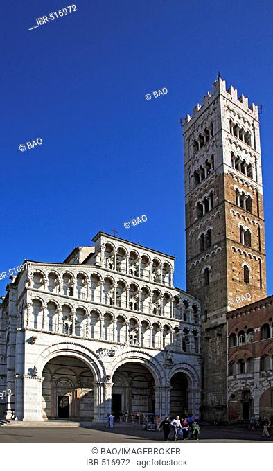 Cathedrale San Martino, Lucca, Tuscany, Italy