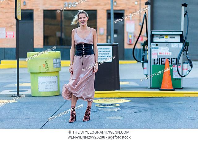 Street Style photos during New York Fashion Week SS17 Featuring: Member of Public Where: New York, New York, United States When: 15 Sep 2016 Credit: The...