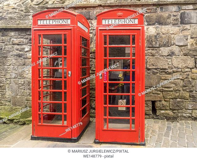 Red telephone box is a telephone kiosk for a public telephone designed by Sir Giles Gilbert Scott, was a familiar sight on the streets of the United Kingdom