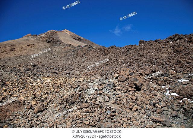 Teide volcano, Tenerife island, Canary archipelago, Spain, Europe