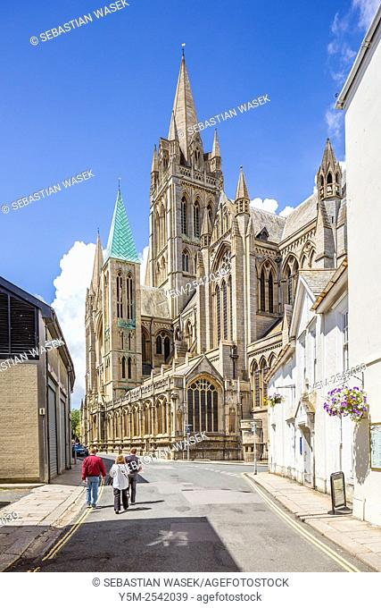 Truro Cathedral, Cornwall, England, United Kingdom, Europe