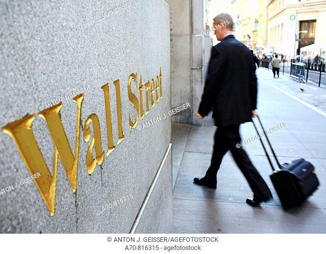 Wall Street . New York City. USA