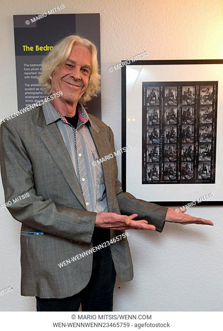Barrie Wentzel, the photographer that took the iconic photos of Jimi Hendrix, these photos were used to reconstruct the exhibition space to the authentic look...