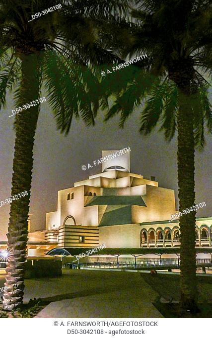 The Museum of Islamic Art designed by IM Pei. Doha, Qatar