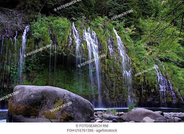 summer mossbrae falls waterfall waterfalls