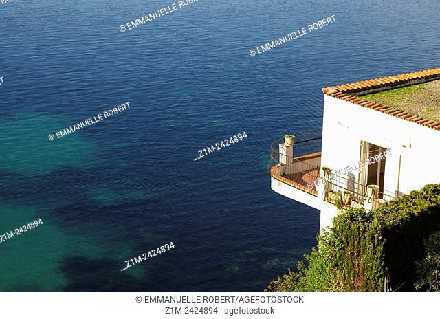 Espalmador Bay, Saint Jean Cap Ferrat, ALpes Maritimes, Provence Alpes Cote d'Azur, France, Europe