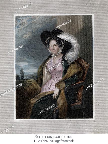 'Mary Elizabeth, Baroness of Clifford', 1828