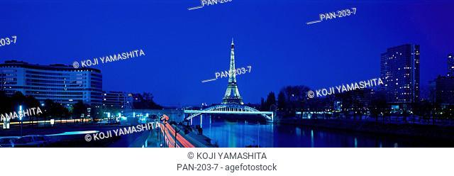 Eiffel Tower, Paris, France, No Release