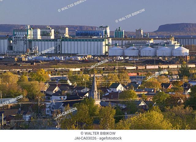 Keefer Shipping Terminal, Thunder Bay, Ontario, Canada
